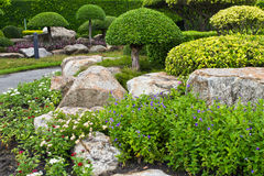 Japanese's garden Stock Images