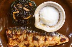Japanese Saba Stock Photo