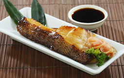 Japanese grilled Saba food isolated  Stock Images