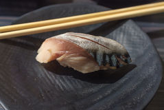 Japanese Saba Sushi Royalty Free Stock Image