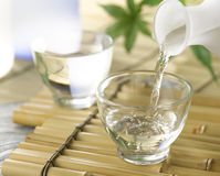 Japanese Sake Royalty Free Stock Photography