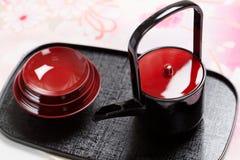 Japanese sake cup Royalty Free Stock Photos