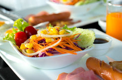 Japanese salad Stock Photography