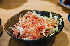 Japanese salad Royalty Free Stock Photography