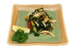 Japanese salad Royalty Free Stock Images