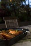Japanese Salmon Confit Royalty Free Stock Photos