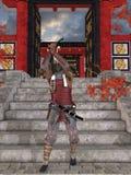 Japanese Samurai Stock Image