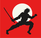 Japanese samurai Stock Photo