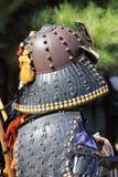 Japanese samurai tradition armor Stock Image