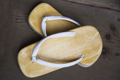 Japanese sandal Royalty Free Stock Photography