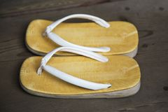 Japanese sandal Royalty Free Stock Images