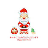 Japanese Santa Royalty Free Stock Photography