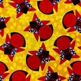 Japanese Sarubobo pattern Royalty Free Stock Photos