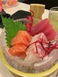 Japanese sashimi. Food fresh fish Bangkok Thailand Royalty Free Stock Photo