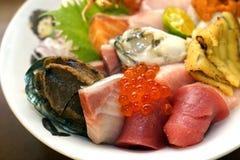 Japanese sashimi stock image