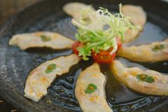 Japanese Sashimi Royalty Free Stock Photography