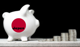 Japanese saving concept Stock Image