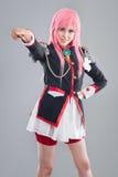 Japanese school uniform Stock Image