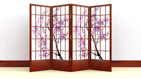 Japanese Screen Stock Images