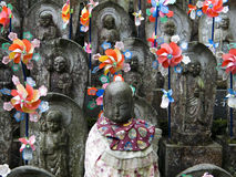 Japanese sculptures Royalty Free Stock Image