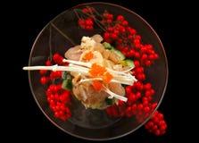 Japanese Sea food Tartare Stock Photography