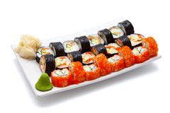 Japanese seafood Royalty Free Stock Images