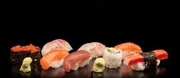 Japanese seafood sushi Stock Photography