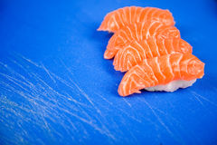 Japanese seafood for sushi Stock Photos
