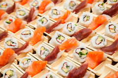 Japanese seafood sushi Stock Photography