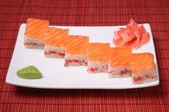 Japanese seafood sushi Stock Image