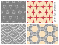 Japanese seamless pattern Stock Photography