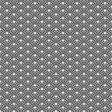 Japanese seamless pattern. Vector art. Japanese wave seamless pattern. Vector background Stock Images
