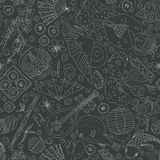 Japanese Seamless Pattern Stock Image