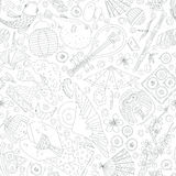 Japanese Seamless Pattern Royalty Free Stock Images