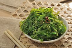 Japanese Seaweed Royalty Free Stock Images