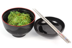 Japanese seaweed in the cup i Stock Photo