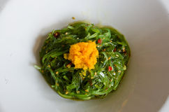 Japanese Seaweed Salad Royalty Free Stock Photography