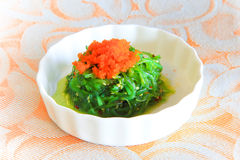 Japanese seaweed salad Stock Photography
