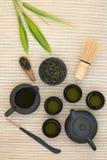 Japanese Sencha Tea Royalty Free Stock Photo