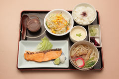 Japanese set meal Stock Photography
