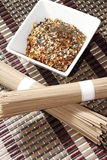 Japanese seven spice mixture Stock Images