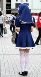 Japanese sexy girl. Japanese sexy manga young girl Royalty Free Stock Image