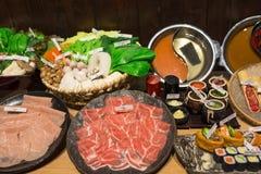 Japanese Shabu Shabu Stock Image