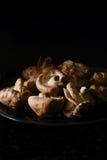 Japanese Shiitake Mushrooms Royalty Free Stock Photography