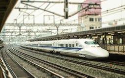 Japanese Shinkansen Stock Photography