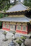 Japanese Shinto Buddhist temples in Nikko Stock Photography