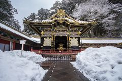 Japanese Shinto Buddhist temples in Nikko Stock Photos