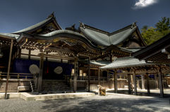 Japanese shinto shrine Ise jingu, Ise, Japan Royalty Free Stock Photo