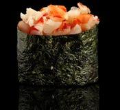 Japanese shrimp gunkan Stock Photo