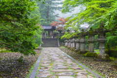 Japanese shrine Stock Images